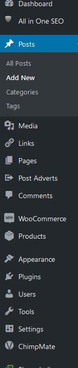 wp.org dashboard