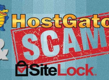 hostgator and sitelock scam
